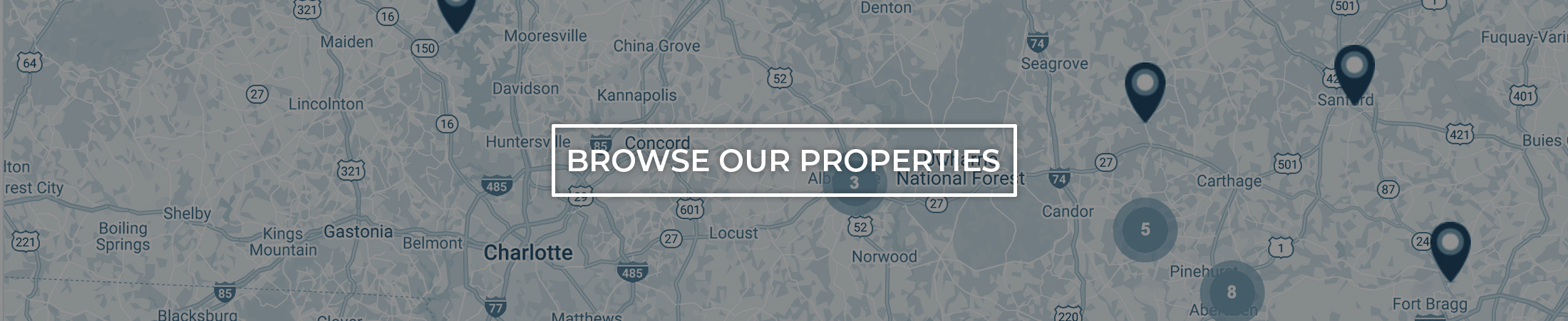 Browse Carolina Commercial Properties